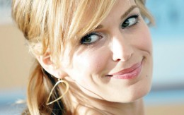 Molly Sims maquillage