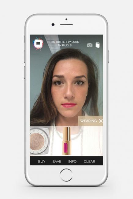 l'oreal makeup genius application