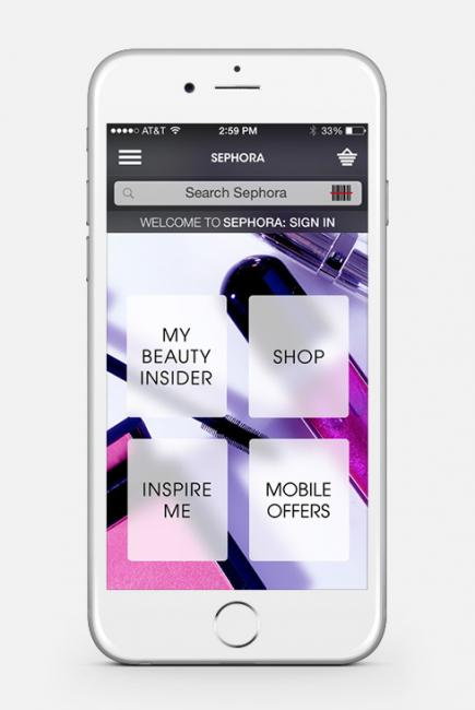 sephora application